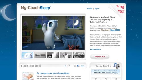 My coach sleep home