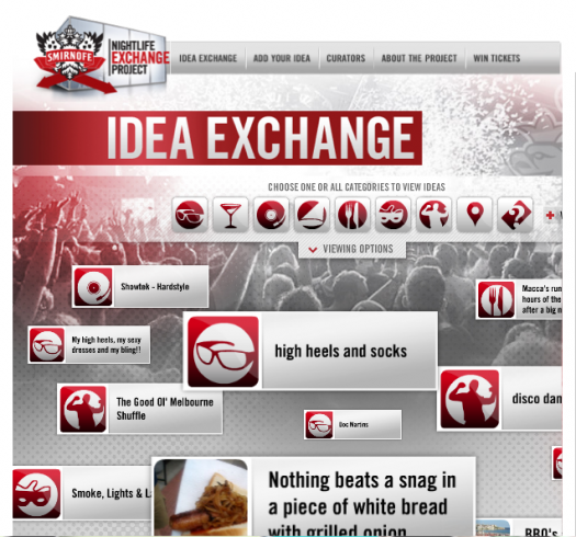 Smirnoff Idea Exchange